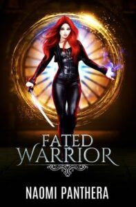 """Paranormal book cover design on the example of Naomi Panthera's """"Fated Warrior"""""""