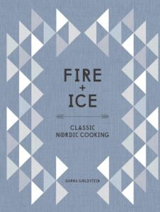 "Text-oriented cookbook cover design on the example of Dara Goldstein's ""Fire + Ice """