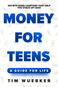 "White space in nonficiton book covers on the example of Tim Wuebker's ""Money for Teens"""