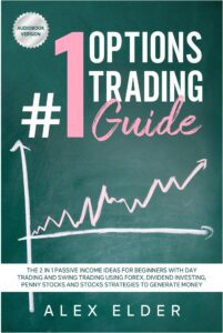 "Photo-less design in nonficiton book covers on the example of  Alex Elder's ""#1 Options Trading Guide"""