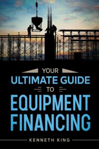 "Clever typography in nonficiton book covers on the example of  Kenneth King's ""Guide to Equipment FInancing"""