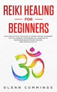 "White space in nonficiton book covers on the example of Glenn Cummings's ""Reiki Healing for Beginners"""