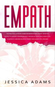 "White space in nonficiton book covers on the example of Jessica Adams's ""Empath"""
