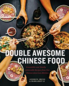 "Photo-based design for cookbook covers on the example of ""Double Awesome Chinese Food"""