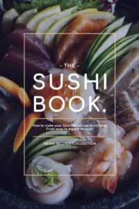 "Photo-based design for cookbook covers on the example of ""Sushi Book"""