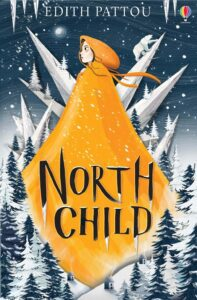 "Edith Pattou's ""North Child"" as an example of a children book cover with an attention-rabbing illustration"