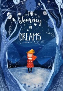 """The Hourney of Dreams"" as an example of a children book cover with an attention-rabbing illustration"
