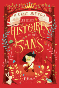 """Histoires 5 Ans"" as an example of schoolkids book cover design idea"