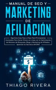 "Color in nonficiton book covers on the example of Manual De Seo Y's ""Marketing de Afiliacion"""