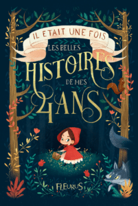 """Histories 4 Ans"" as an example of schoolkids book cover design idea"