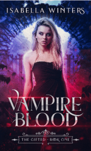 "Isabella Winters's ""Vampire Blood"" as an example of YA Fantasy imagery tips"