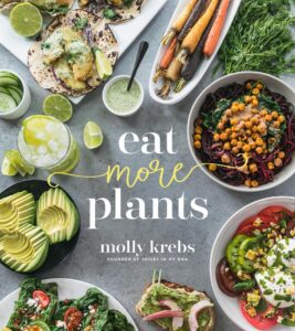"Photo-based design for cookbook covers on the example of Molly Krebs's ""Eat More Plants"""