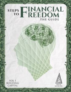 "Minimalistic images in nonficiton book covers on the example of ""Steps to Financial Freedom"" the Guide"""