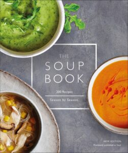 "Photo-based design for cookbook covers on the example of ""The Soup Book"""