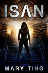 """Dystopian drama book cover design on the example of Mary Ting's """"Isan"""""""