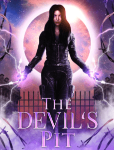 """Paranormal romance book cover design on the example of """"The Devil's Pit"""""""